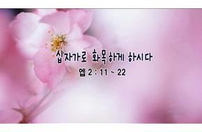 2010-04-18 주일설교 - 십자가로 화목하게 하시다